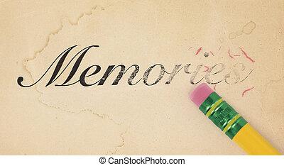 記憶, 消去