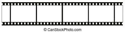 詳しい, 実質, 目に見える, フレーム, 白黒, ブランク, 隔離された, 否定的, 35mm, 背景, かく, ほこり, 穀粒, 白, 大いに, フィルム