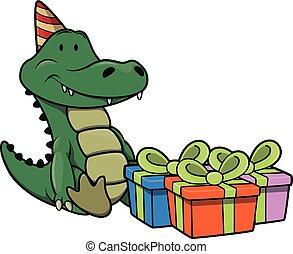 誕生日パーティー, ワニ, 使うこと