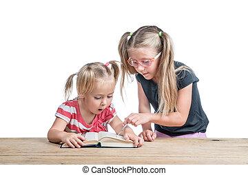 読まれた, 姉妹, 教える, より古い