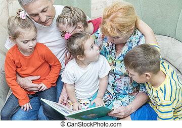 読まれた, 祖父母, 教えなさい, 孫