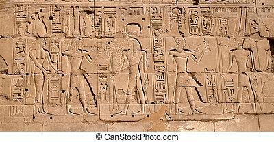 象形文字, エジプト人