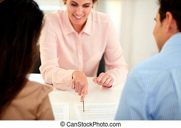 財政, 解決, エージェント, 計画, 女性, 保険