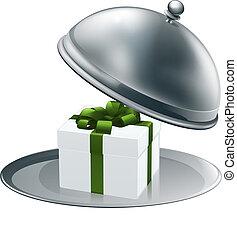 贈り物, プラター, 銀