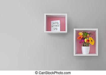 贈り物, 日, 花, 母