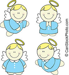 赤ん坊, セット, 天使