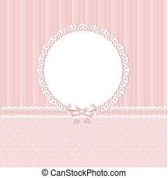 赤ん坊, ピンクの背景