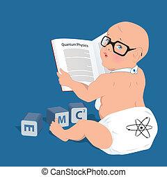 赤ん坊, 天才