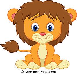 赤ん坊, 漫画, ライオン, モデル