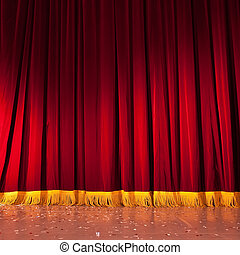 赤, ステージ