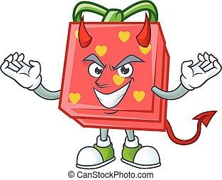 赤, 特徴, 愛, 贈り物, デザイン, 漫画, 悪魔