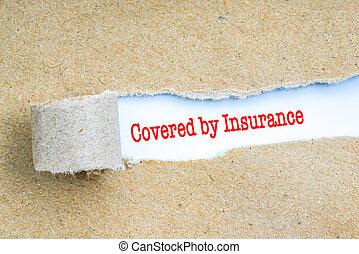 赤, text., 保険