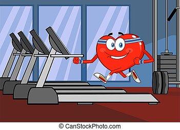 踏み車, 健康, 特徴, 動くこと, 漫画, 心