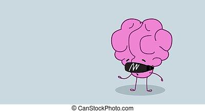 身に着けていること, かわいい, スタイル, 概念, 器官, ヘッドホン, 特徴, 事実上, kawaii, 脳, ピンク, 人間, デジタル, 横, 現実, 漫画, ビジョン, ガラス