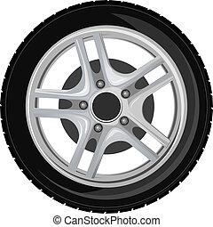 車輪, タイヤ