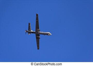 軍, 偵察, 飛行, 航空機, デモンストレーション