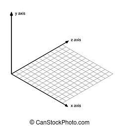 軸, x, 方向, y, ベクトル, z