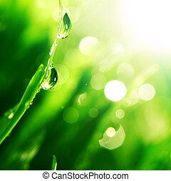 輝き, 水滴