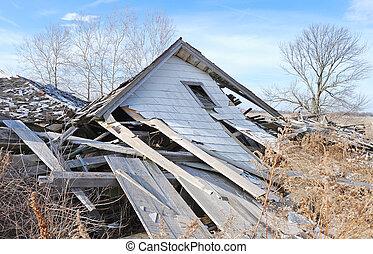 農場の家, demolished