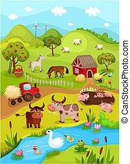 農場, カード