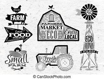 農場, 型