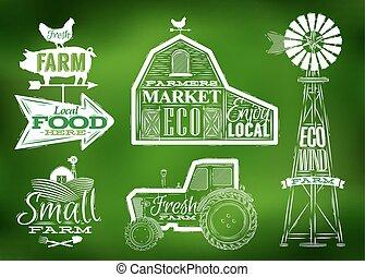 農場, 型, 緑