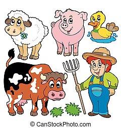 農場, 漫画, コレクション