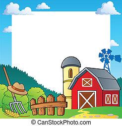 農場, 1, 主題, フレーム