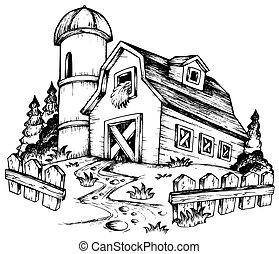 農場, 1, 主題, 図画