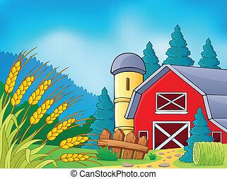 農場, 9, 主題, イメージ