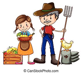 農夫, ベンダー