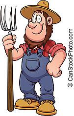 農夫, 漫画