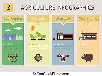 農業, infographics