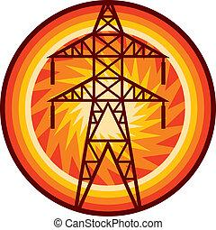 送電線, シンボル
