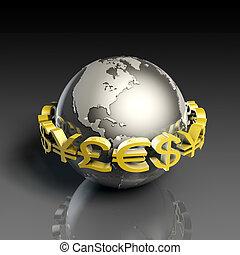 通貨, 外国為替