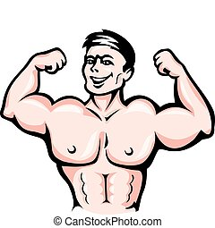 運動選手, 筋肉