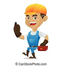 道具箱, 届く, handyman