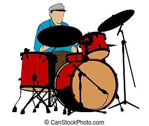 道具, ドラム