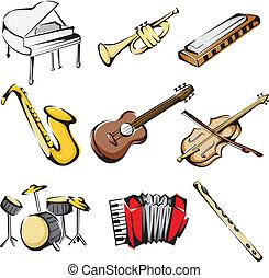 道具, ミュージカル, アイコン