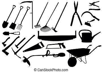 道具, 園芸, コレクション