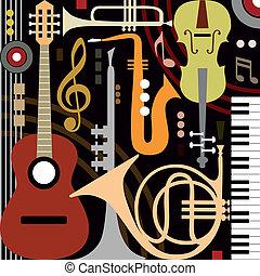 道具, 抽象的, ミュージカル