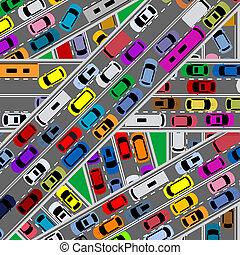 道, 交通, 混雑