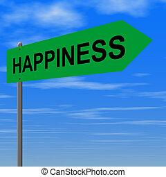 道, 幸福