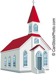 郡, わずかしか, キリスト教徒, 教会
