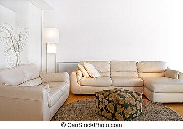 部屋, 明るい, 暮らし