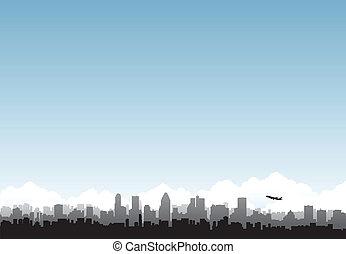 都市, 地平線