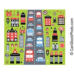 都市, 自動車