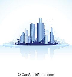 都市, 都市眺め