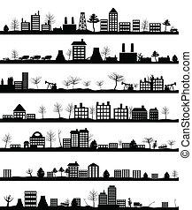 都市, 風景