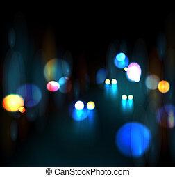 都市, nightlife